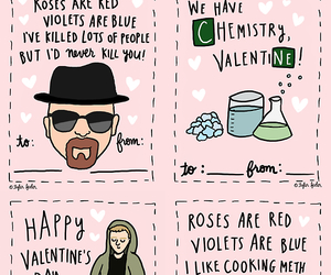 breaking bad and valentine image