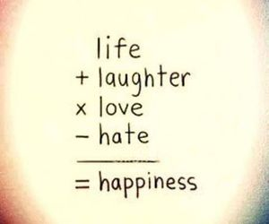 life, love, and happiness image