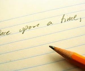 cursive, Paper, and pencil image