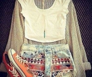 clothes, short, and girl image