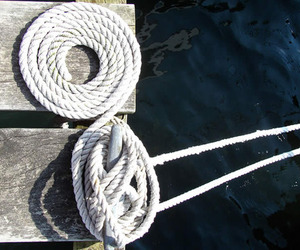 knot, navy, and rope image