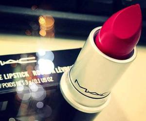 mac, red, and lipstick image