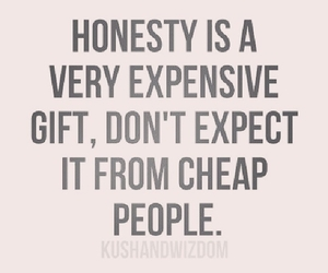 quotes, honesty, and life image