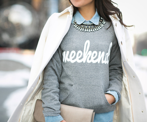 fashion, outfit, and weekend image