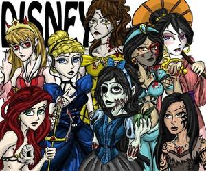 bitches, disney, and disney princess bitches image