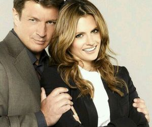 caskett, castle, and love image