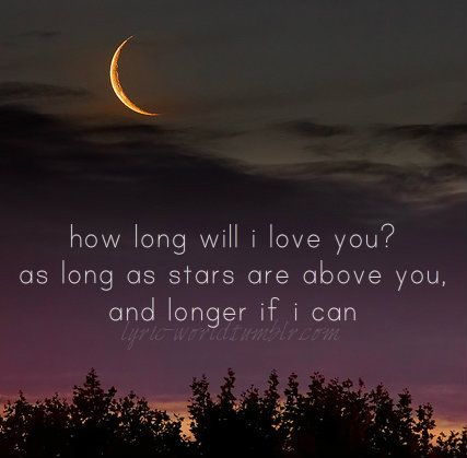 How Long Will I Love You On We Heart It