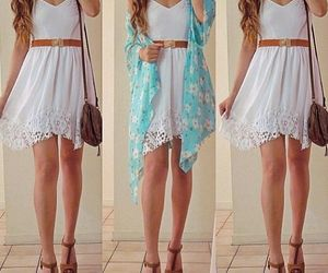 dress, clothes, and summer image