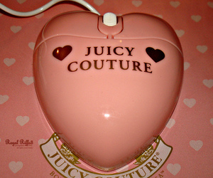 pink, girly, and juicy couture image