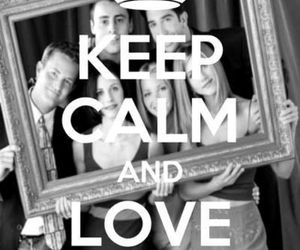 friends, love, and keep calm image