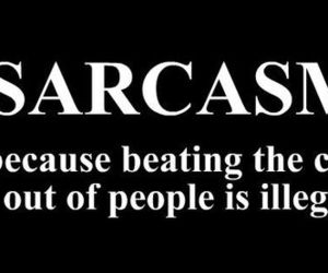 sarcasm, quote, and funny image