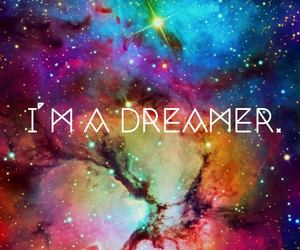 dreamer, galaxy, and cute image