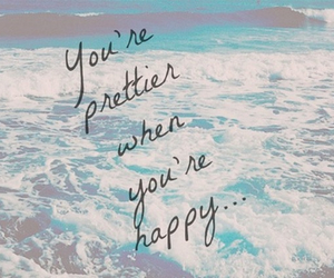 happy, pretty, and quotes image