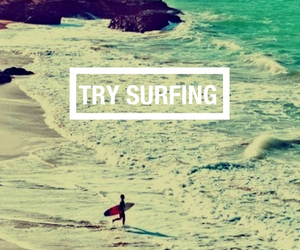 surfing and love image