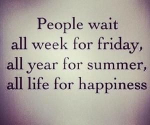 happiness, summer, and friday image