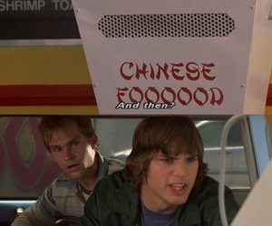 dude where's my car, funny, and chinese food image