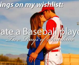 baseball, couple, and girl image