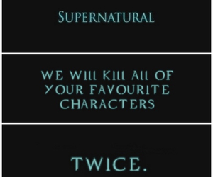 supernatural, my edit, and everybody's dead image