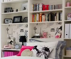 bedroom, room, and paris image