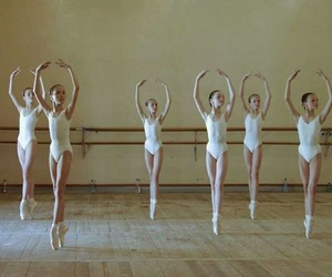 ballerina, ballet, and pale image