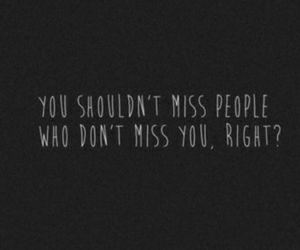 miss and sad image