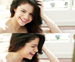 selena gomez, girl, and smile image