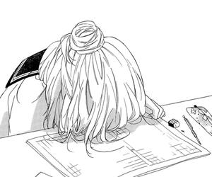 anime, Dream, and girl image