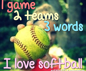 love it, softball, and fastpitch image