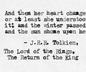 quote, lord of the rings, and book image