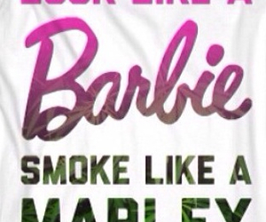<3, barbie, and bob marley image