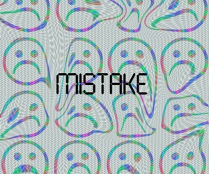 mistake and sad image
