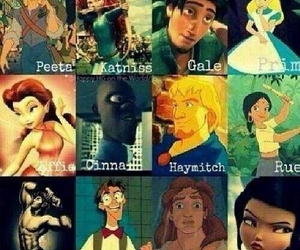 disney, movies, and catching fire image