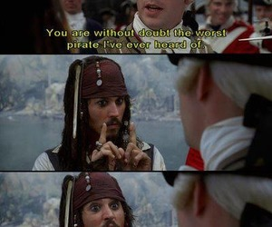 jack sparrow, funny, and pirate image