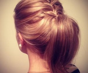 cute, hair, and hairstyle image