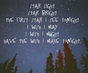 night, quote, and stars image
