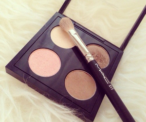 mac, makeup, and eyeshadow image
