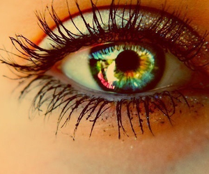 colors, eye, and cool image