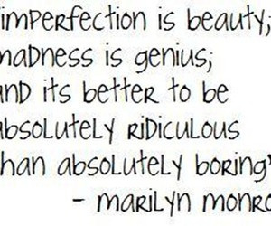 beauty, quote, and Marilyn Monroe image