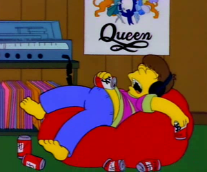 Queen and the simpsons image