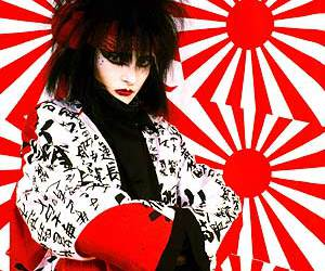 japan, siouxsie sioux, and siouxsie and the banshees image