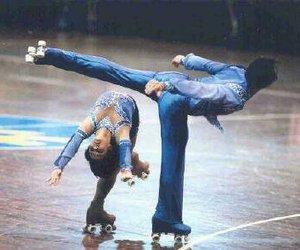 figure skating, roller skating, and patin image