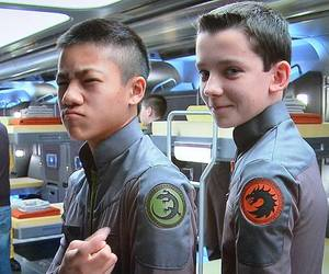 ender's games, actor, and asa butterfield image