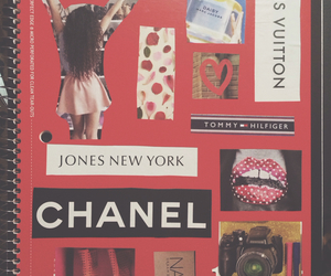 chanel, notebook, and baby image