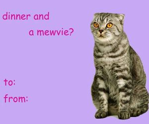 funny, card, and Valentine's Day image