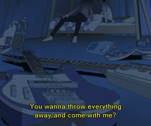 quotes, grunge, and anime image