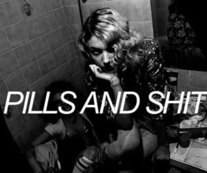 cassie, skins, and pills image