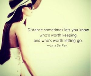 quotes, distance, and lana del rey image