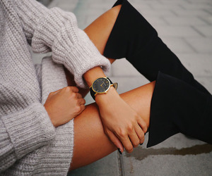 fashion, style, and watch image