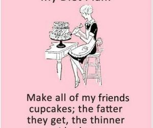 diet, cupcake, and funny image