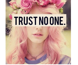 trust, flowers, and pink image